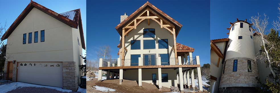 pp1 Pikes Peak Home built in Colorado